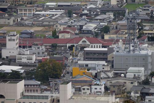金比羅山本堂前から琴平駅前 by DMC-G1