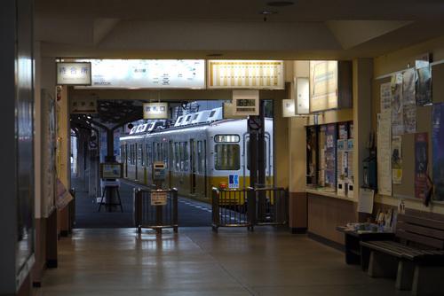 琴電琴平駅にて by DMC-G1