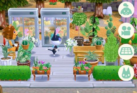 【ポケ森】今見たら花のショーケースももぐもぐじゃんwwwwwwwのサムネイル画像