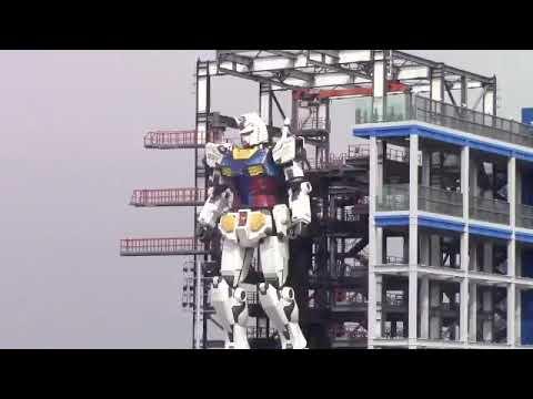 横浜の実物大_動くガンダム