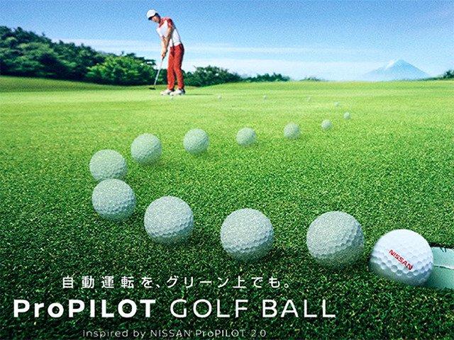 ゴルフボール日産