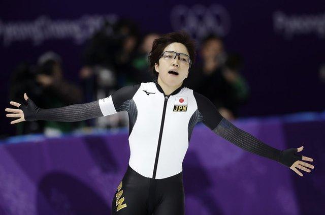 小平奈緒500m金メダル