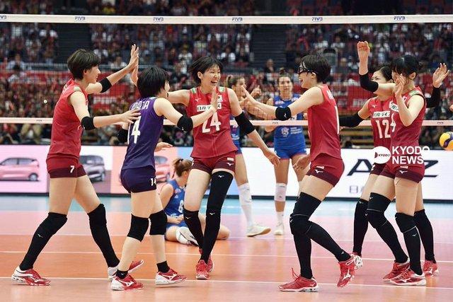 バレー女子日本セルビア戦W杯