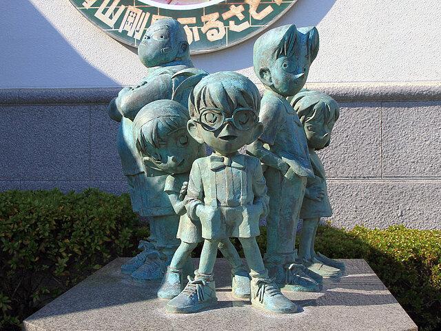 名探偵コナン_ブロンズ像