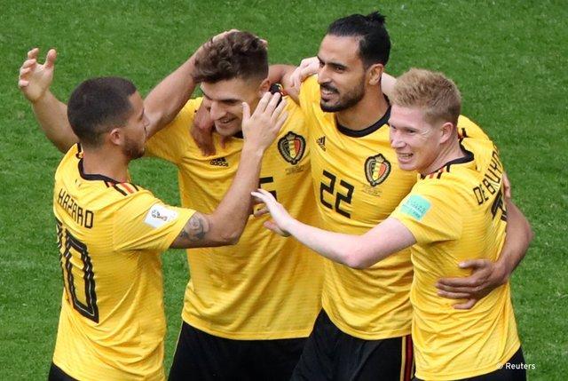 ベルギー3位イングランド