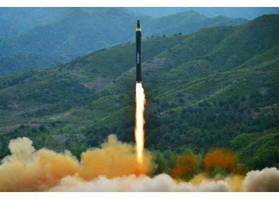 グアム北朝鮮ミサイル