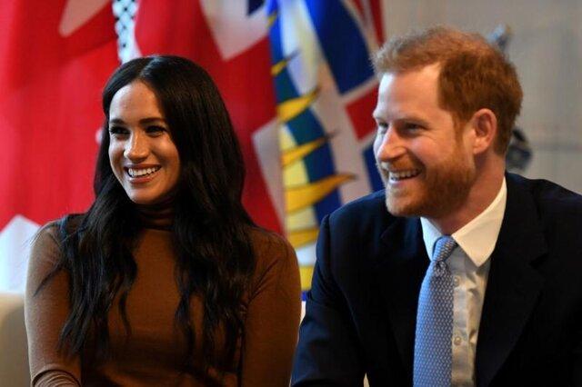 英王室離脱ヘンリー王子メーガン妃