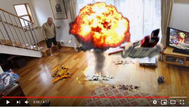 GUNDAM StopMotion ガンプラ コマ撮り vsシャアザク編
