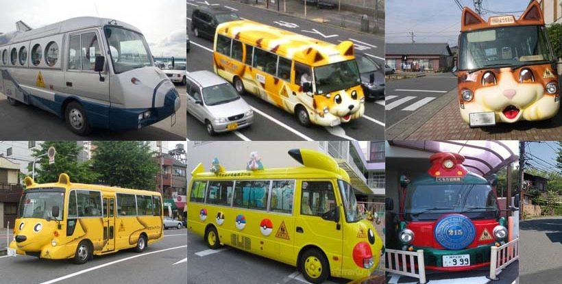 日本の幼稚園スクールバス