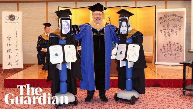 BBT大学アバターロボット卒業式