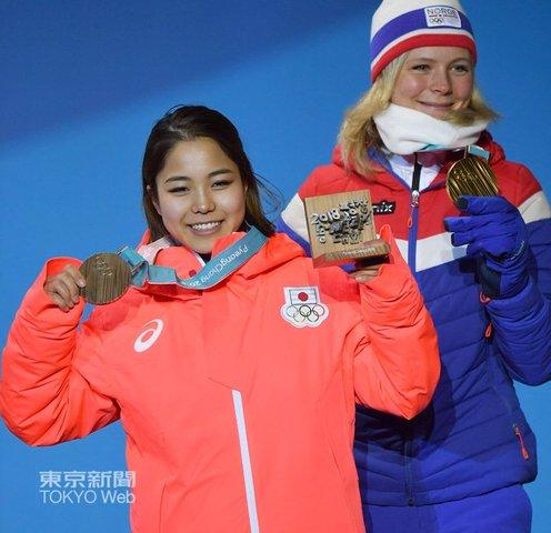 銅メダル高梨沙羅 (2)