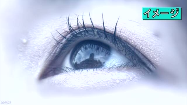 瞳から景色特定NHK