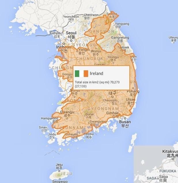 韓国アイルランド