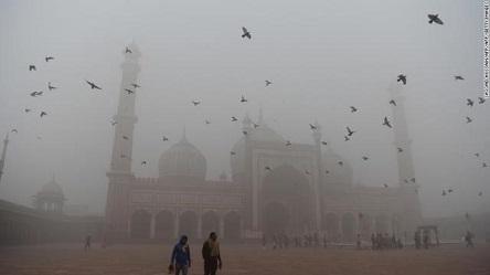 ニューデリー大気汚染