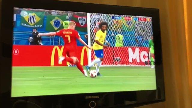 ベルギー対ブラジル