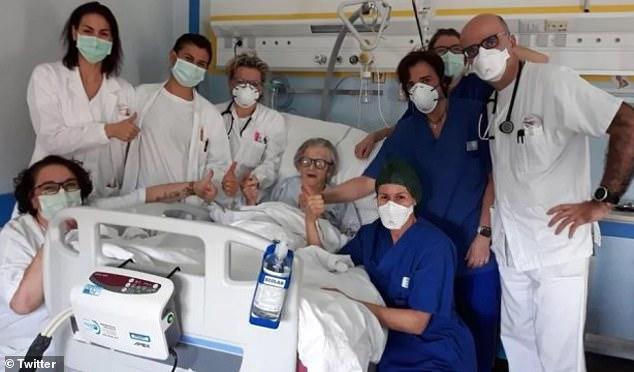 コロナ回復イタリア95歳