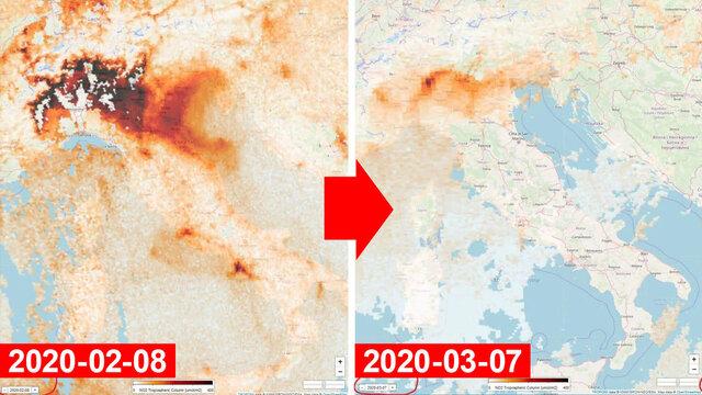 イタリア大気汚染_二酸化窒素