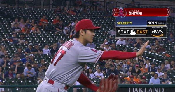大谷翔平MLB最速