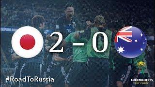 ワールドカップ日本オーストラリア