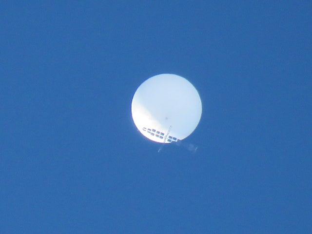 仙台の気球型UFO