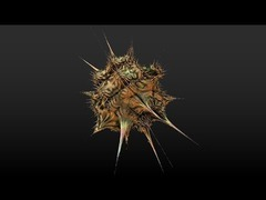 ウイルスフラクタル3D