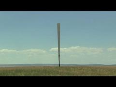 羽のない風力発電