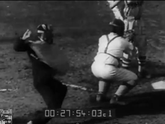 戦前の野球審判