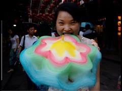 中国の綿菓子
