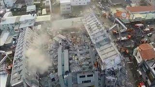 台南市マンション倒壊
