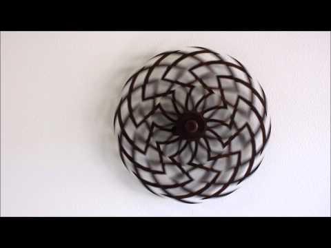 錯視アート木製