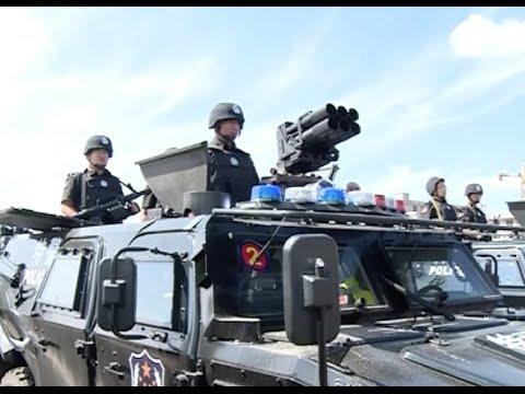 内モンゴル自治区中国警察