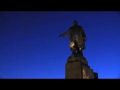 ウクライナのレーニン像
