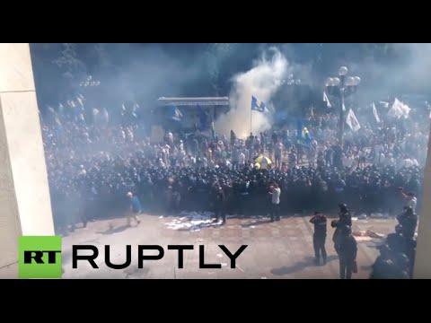 ウクライナ国会キエフ爆発