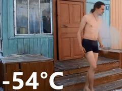 -54度オイミャコン裸