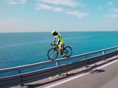 ロードバイク神業