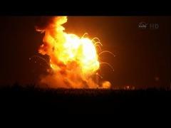 NASAロケット打ち上げ失敗アンタレス爆発