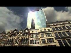 反射光ロンドン高層ビル