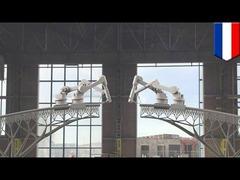 ロボット橋3Dプリンター