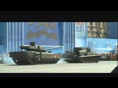 立ち往生T-14戦車