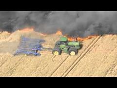 トラクター防火帯