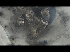 ドネツク国際空港ドローン空撮