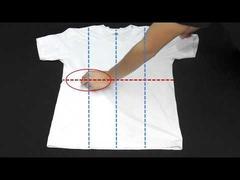 2秒でできるTシャツのたたみ方