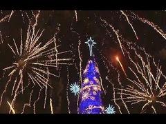 フロート式クリスマスツリー
