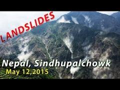 ネパール地滑り
