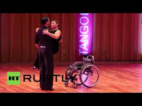 車椅子タンゴダンス