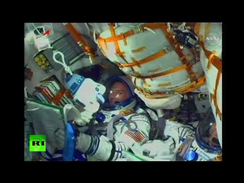 ソユーズ打ち上げ