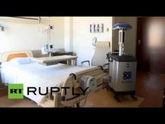 エボラ紫外線ロボット
