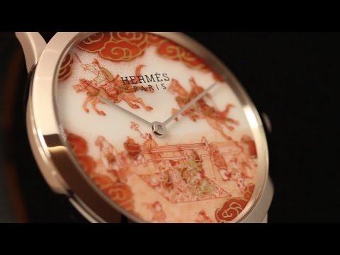九谷焼エルメス腕時計