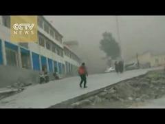 ネパール地震チベット