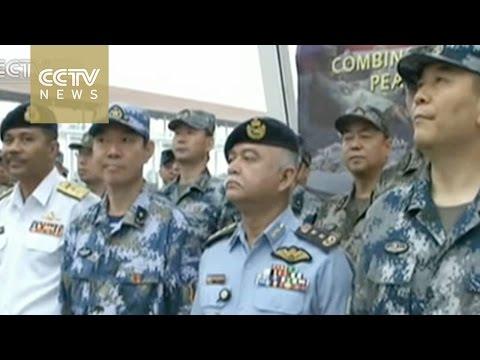 中国マレーシア軍事演習
